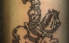 художественная татуировка - 4
