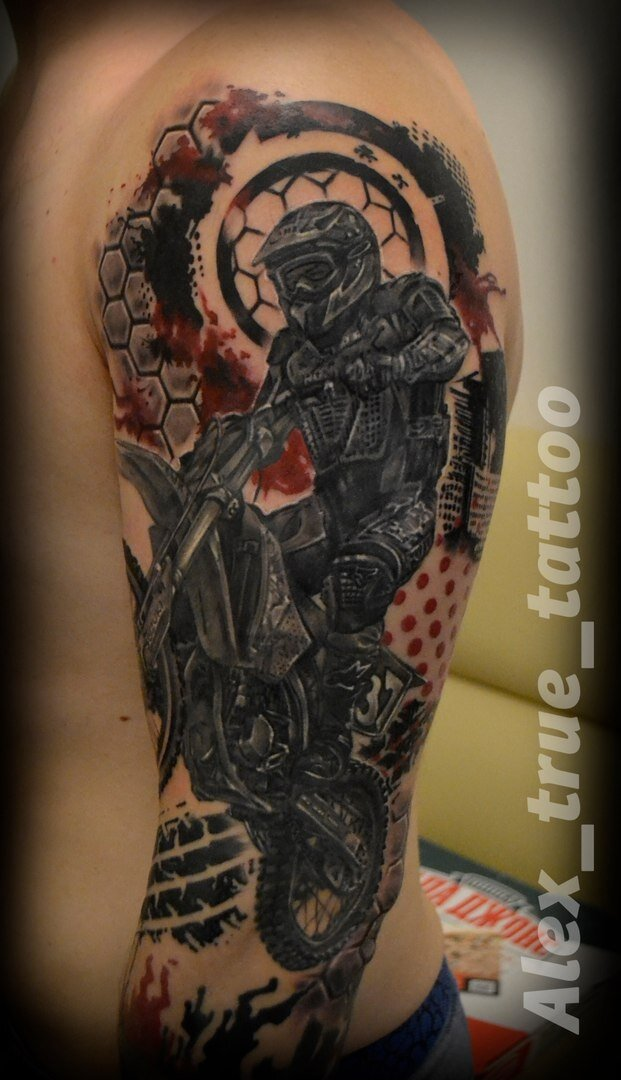 художественная татуировка - 29