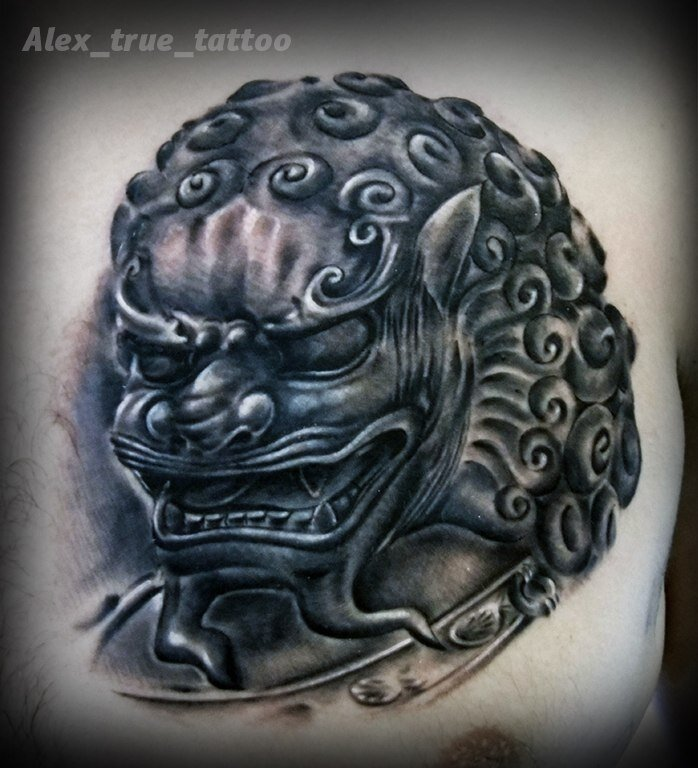 художественная татуировка - 48