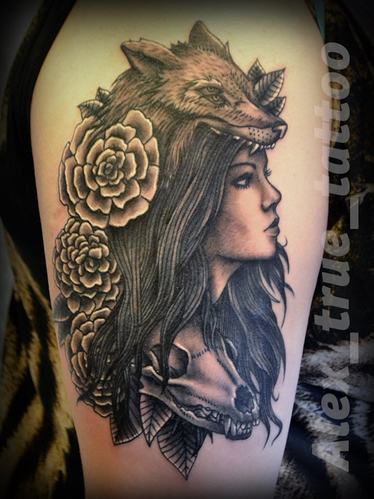 художественная татуировка - 61
