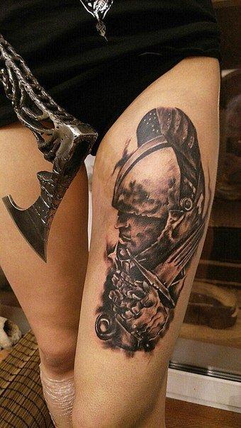 художественная татуировка - 5