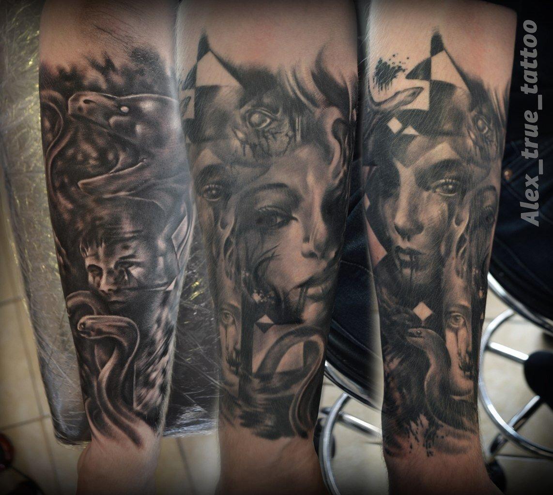 художественная татуировка - 63